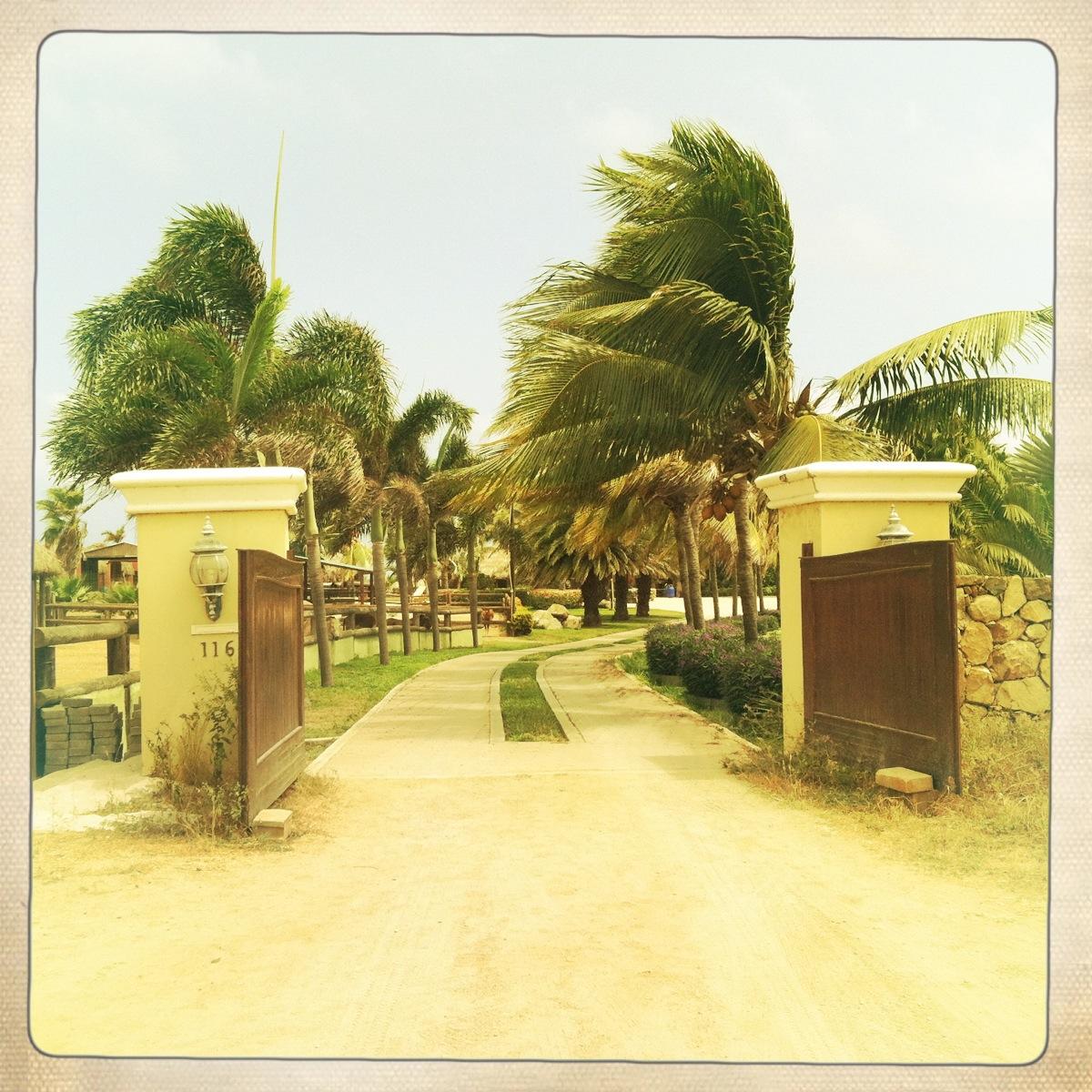 entrance to animal garden